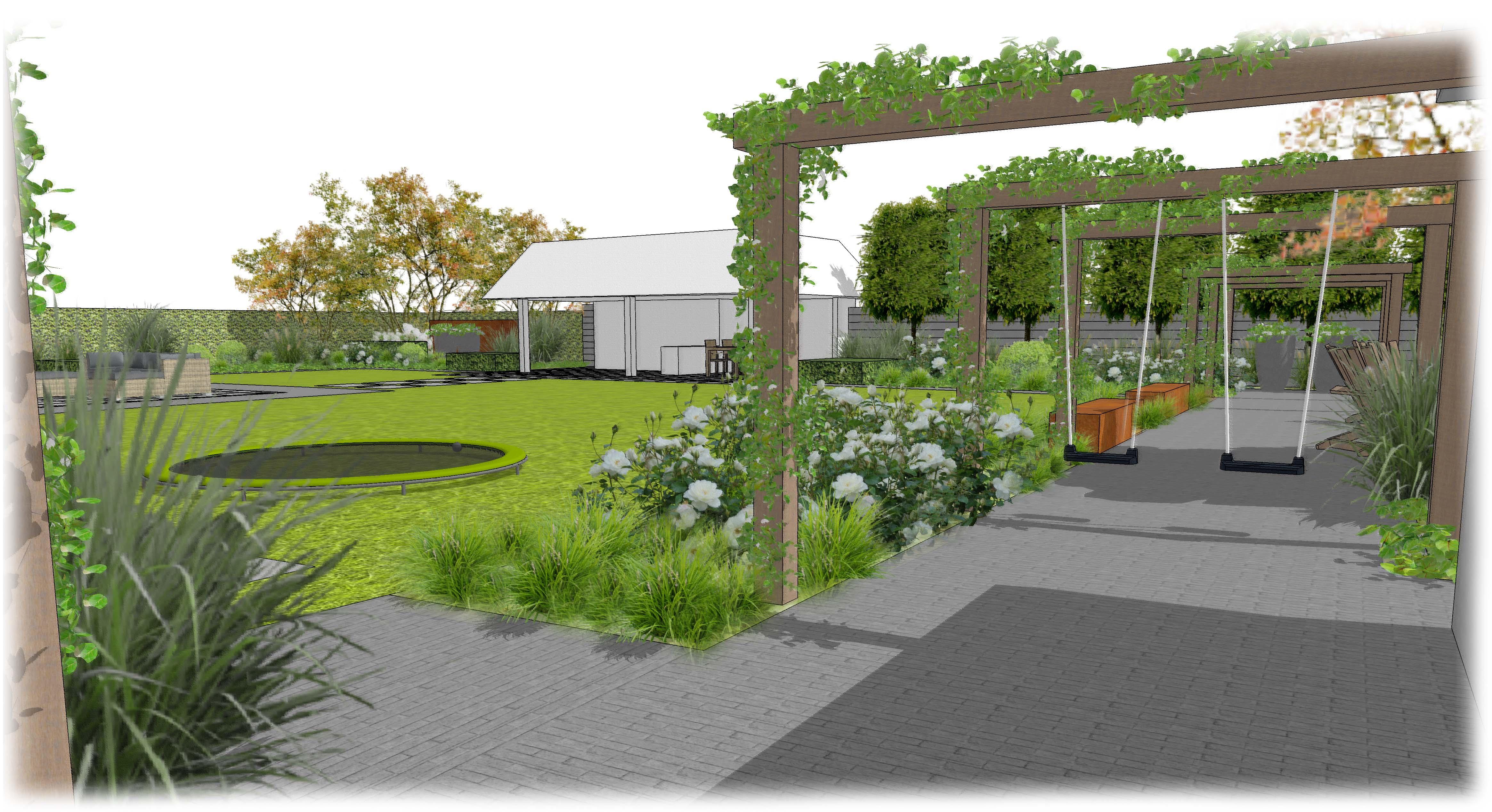 Tuin Ontwerpen Voorbeelden : Voorbeelden tuinontwerp tuinaanleg tuinonderhoud blok